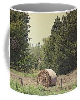 Nebraska Farm Life - Hay Bail Coffee Mug