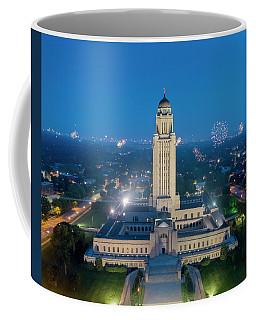 Nebraska State Capitol - July 4th Coffee Mug