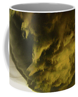 Nebraska Supercell, Arcus, Shelf Cloud, Remastered 018 Coffee Mug