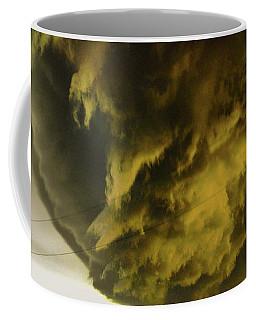 Coffee Mug featuring the photograph Nebraska Supercell, Arcus, Shelf Cloud, Remastered 018 by NebraskaSC
