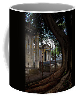 Coffee Mug featuring the photograph Necropolis Cristobal Colon Havana Cuba Cemetery by Charles Harden