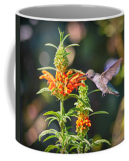 Coffee Mug featuring the photograph Nectaring by AJ Schibig