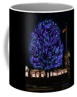 Needham's Blue Tree Coffee Mug