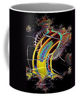 Needle In Fractal 4 Coffee Mug by Tim Allen