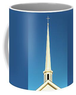 Coffee Mug featuring the photograph Needle-shaped Steeple by Onyonet  Photo Studios