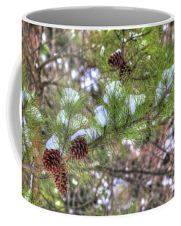 Needles And Cones Coffee Mug