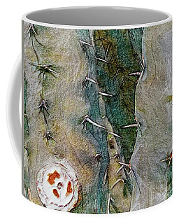 Needles In The Desert Coffee Mug by Kathie Chicoine