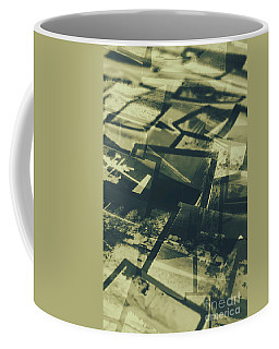 Negative Photos In Dark Room Coffee Mug