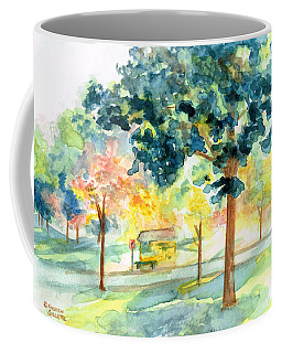 Neighborhood Bus Stop Coffee Mug