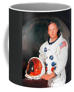 Coffee Mug featuring the photograph Neil Armstrong by Ericamaxine Price