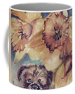 Coffee Mug featuring the painting Nellie Mae by Mindy Newman