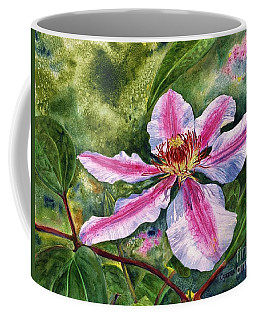 Nelly Moser Clematis Coffee Mug