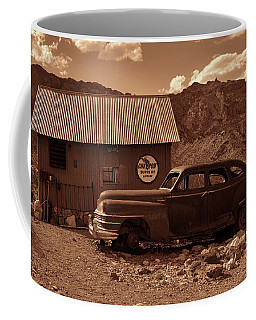 Nelson Chrysler - Sepia Coffee Mug