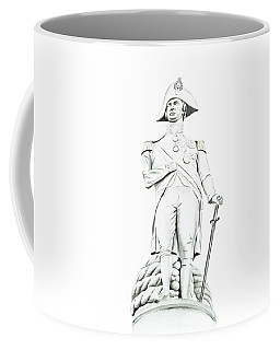 Coffee Mug featuring the painting Nelson by Elizabeth Lock