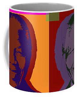 Nelson Mandela Pop Art Coffee Mug