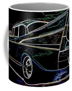 Neon 57 Chevy Bel Air Coffee Mug