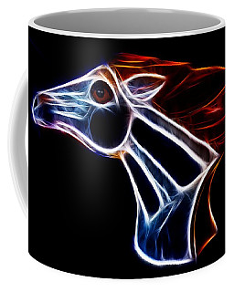 Neon Bronco II Coffee Mug