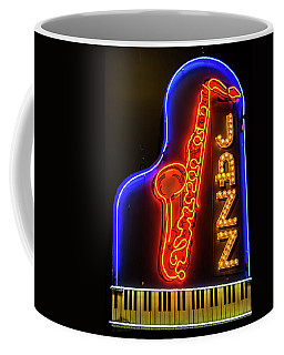 Neon Jazz Coffee Mug