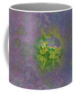 Neon Lights Coffee Mug by Nancy Marie Ricketts