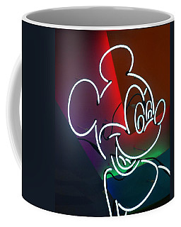Neon Mickey Coffee Mug
