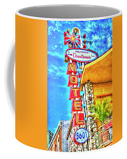 Neon Motel Sign Coffee Mug