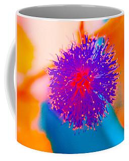 Neon Pink Puff Explosion Coffee Mug