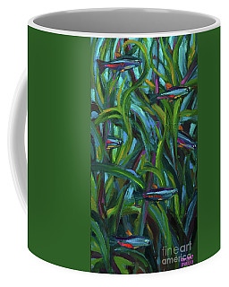 Neon Tetras Coffee Mug by Robert Phelps