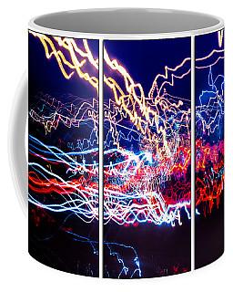 Neon Ufa Triptych Number 1 Coffee Mug