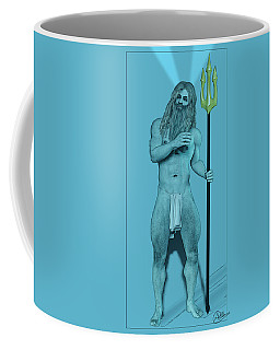 Blue Neptune Coffee Mug