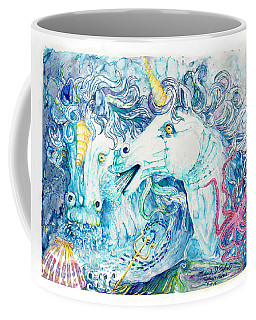 Neptune's Horses Coffee Mug by Melinda Dare Benfield