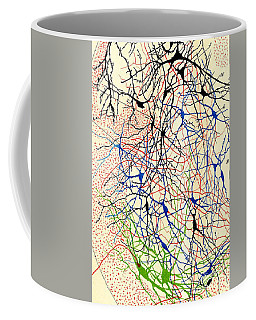 Nerve Cells Santiago Ramon Y Cajal Coffee Mug