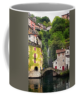 Nesso On Lake Como Italy Coffee Mug