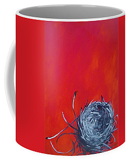 Nest On Red Coffee Mug
