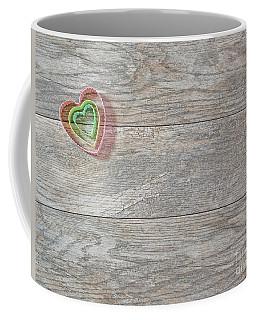 Nested Hearts Coffee Mug by Liz Masoner