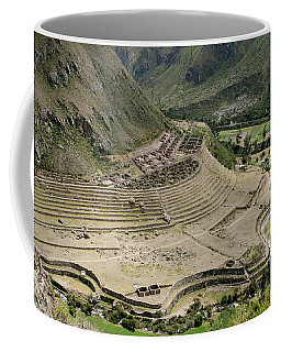 Nestled At The Foot Of A Mountain Coffee Mug