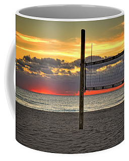 Netting The Sunrise Coffee Mug