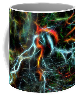 Coffee Mug featuring the photograph Neurons On Fire by Yulia Kazansky