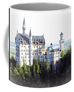 Neuschwanstein - Watercolor Coffee Mug