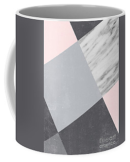 Neutral Collage With Marble Coffee Mug