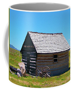 Nevada Log Cabin Coffee Mug