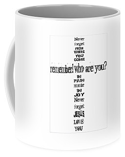 Never Forget, A Fax For You Coffee Mug