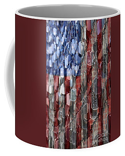 Coffee Mug featuring the photograph Never Forget American Sacrifice by DJ Florek