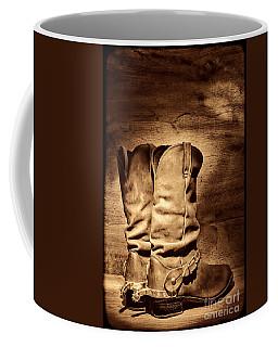 New Cowboy Boots Coffee Mug