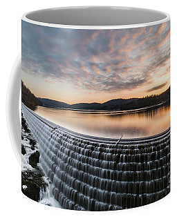 New Croton Dam At Sunrise Coffee Mug