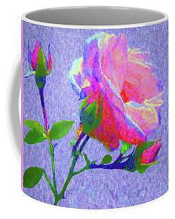 New Dawn Painterly Coffee Mug by Susan Lafleur