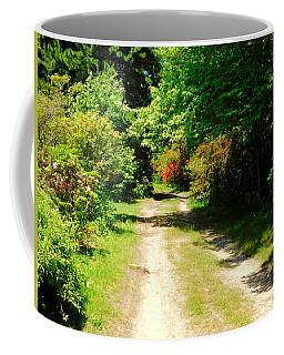New England Country Road Coffee Mug