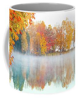 New England Fall Colors Of Maine Coffee Mug