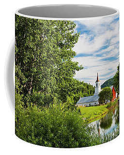 New England Idyllic Summer Coffee Mug