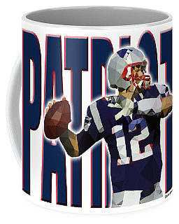 New England Patriots Coffee Mug by Stephen Younts