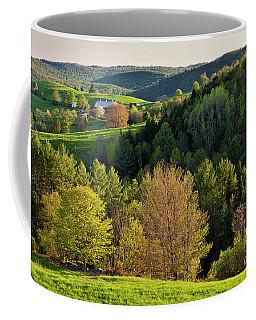 New England Spring Coffee Mug by Alan L Graham